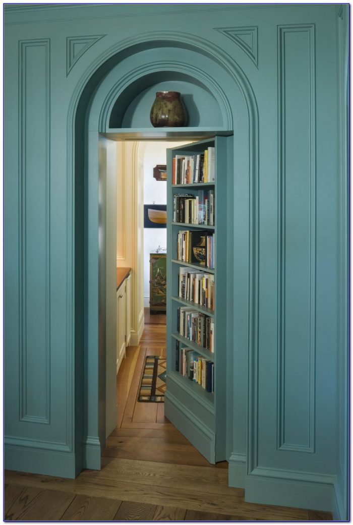 How To Install Secret Bookcase Doors Bookcase Home