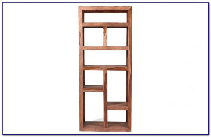 Sheesham Wood Bookcase And Cupboard
