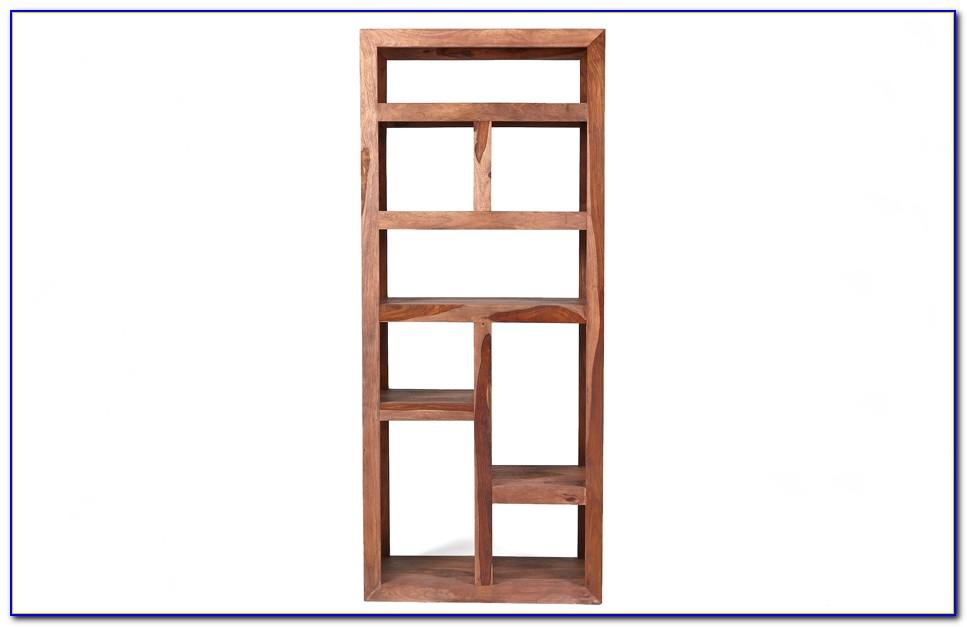Sheesham Wood Bookcase And Cupboard