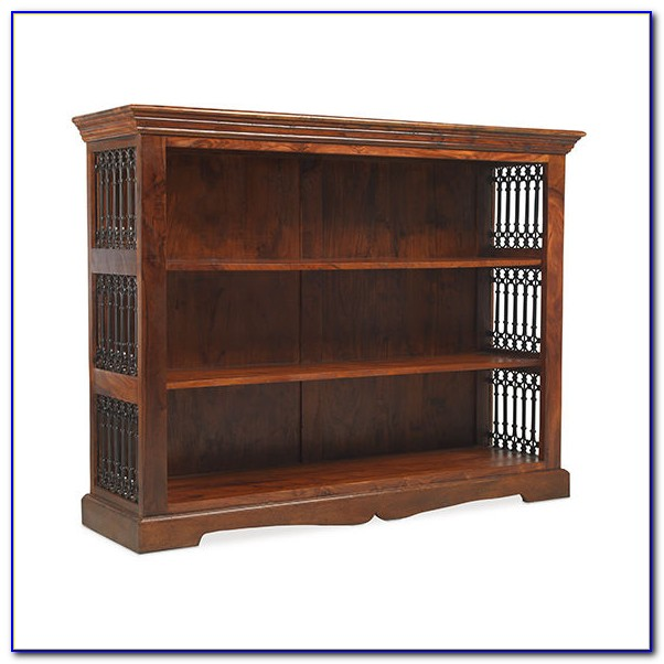 Sheesham Wood Cube Bookcase