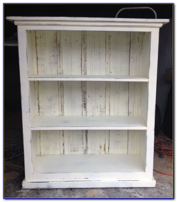 Simply Shabby Chic Bookcase White