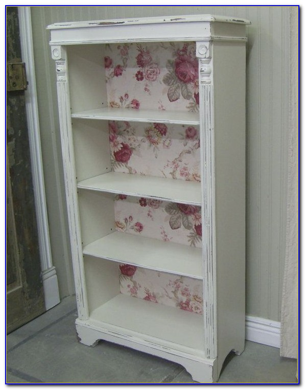 Simply Shabby Chic Small Bookcase White
