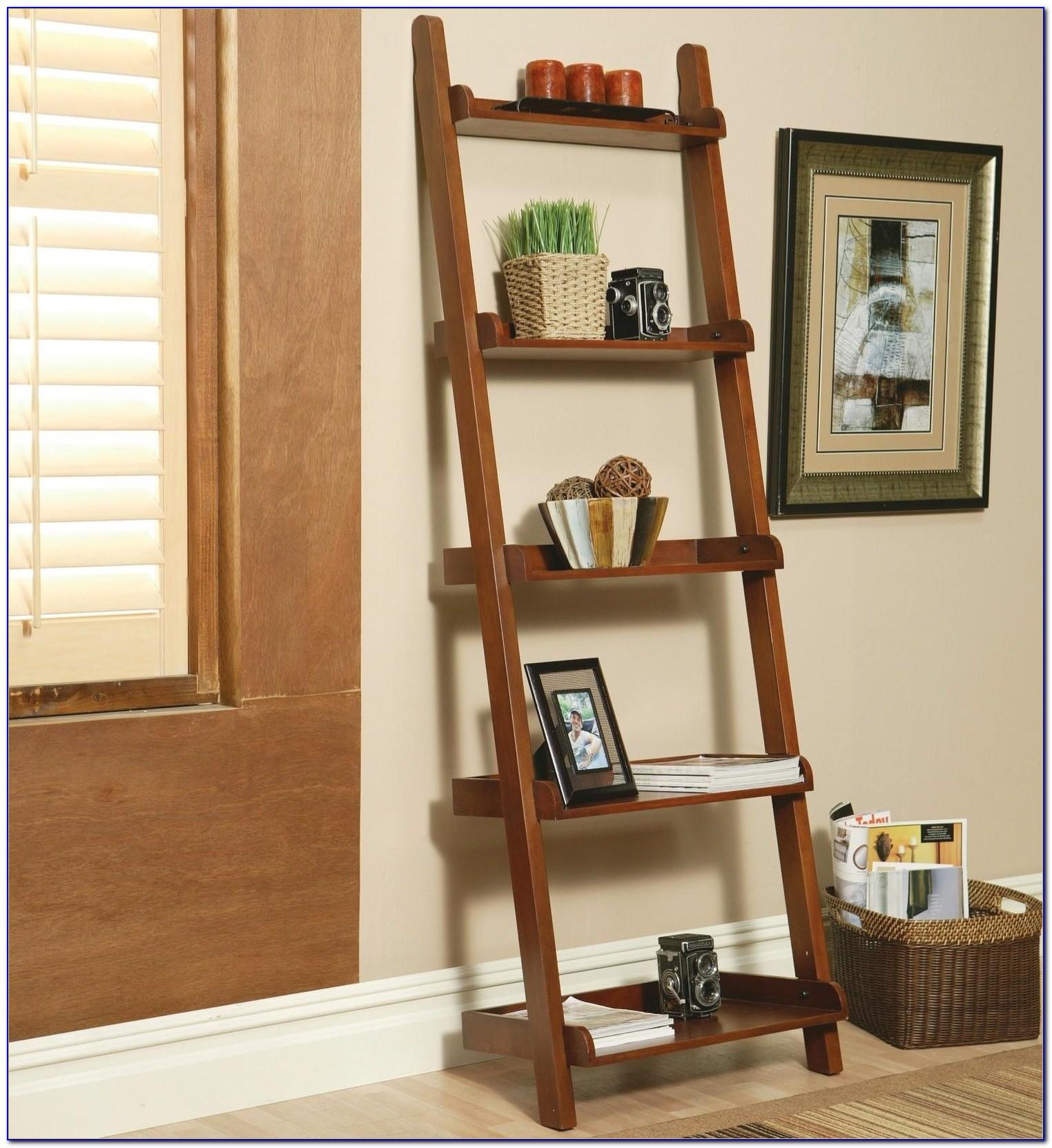 Sloane Espresso 25.5 Leaning Bookcase