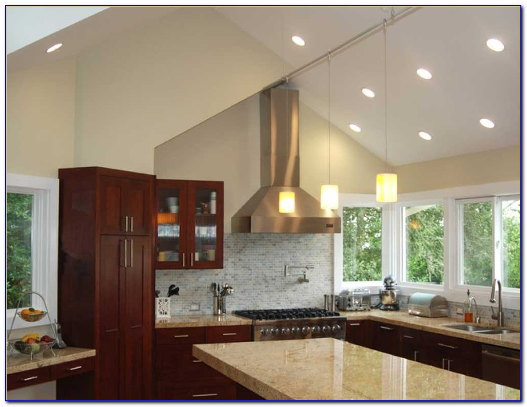 Sloped Ceiling Recessed Lighting Led