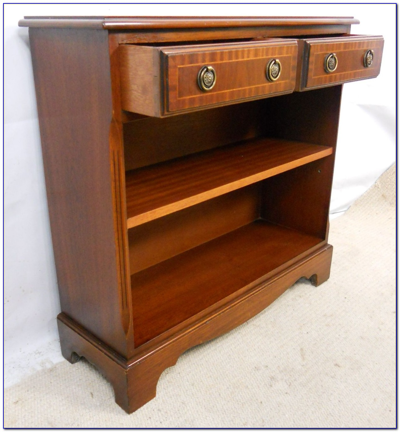 Small Antique Mahogany Bookcase