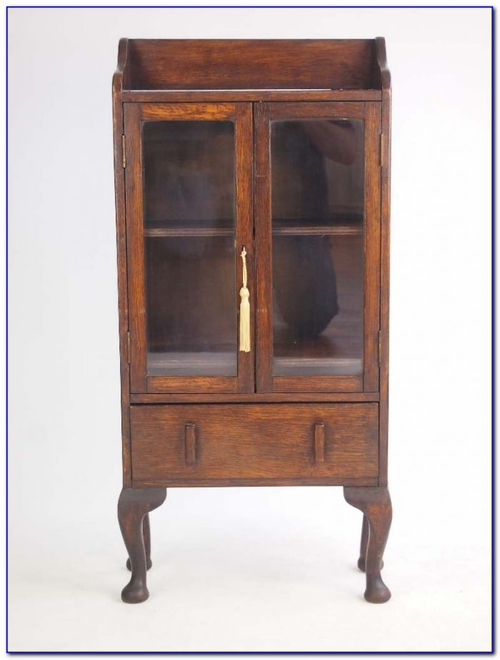 Small Antique Oak Bookcases