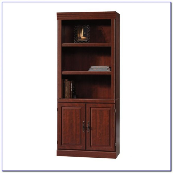 Small Bookcase Dark Wood