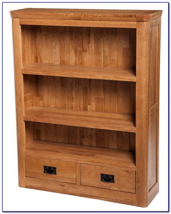 Small Dark Oak Bookcase