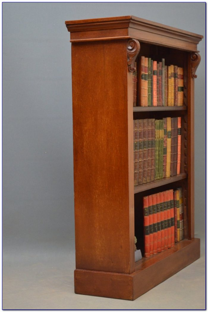 Small Mahogany Bookshelf