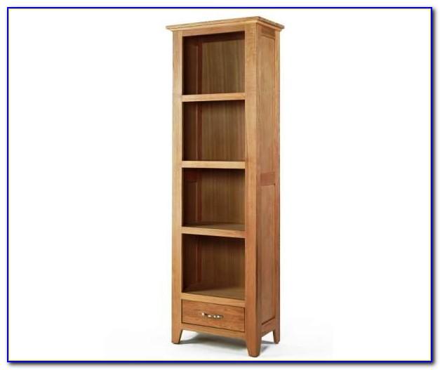 Small Tall Oak Bookcase