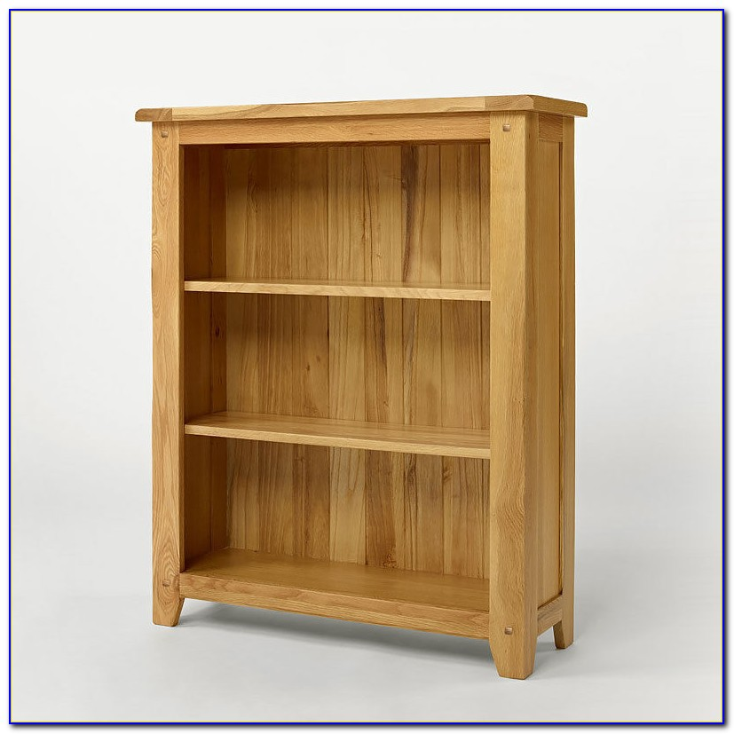 Solid Light Oak Bookcases