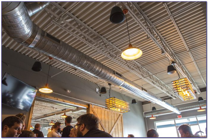 Surround Speakers Hanging From Ceiling