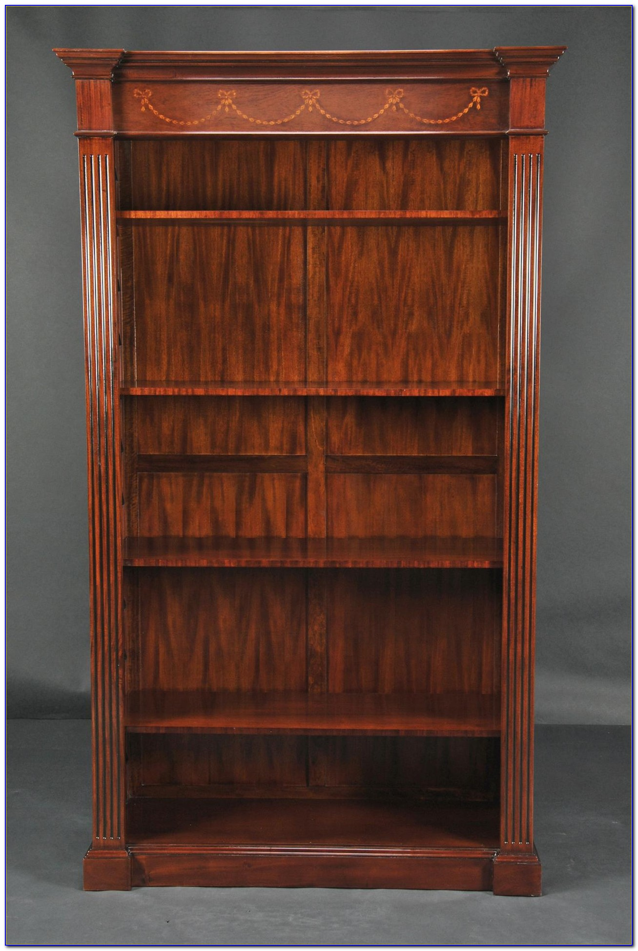 Tall Mahogany Bookcase