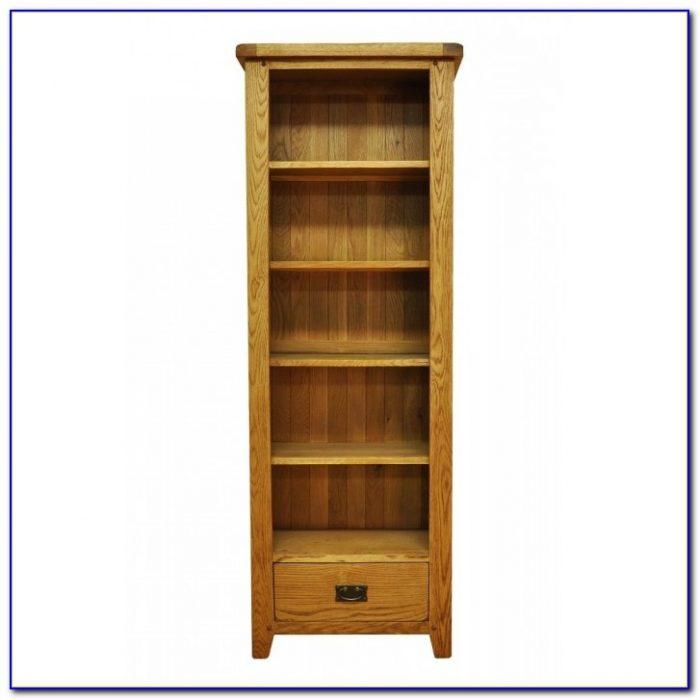 Tall Narrow Oak Bookcase Uk