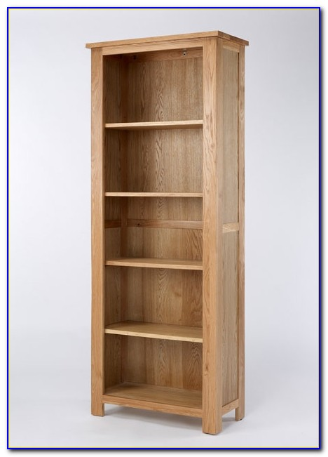 Tall Oak Bookcase Uk