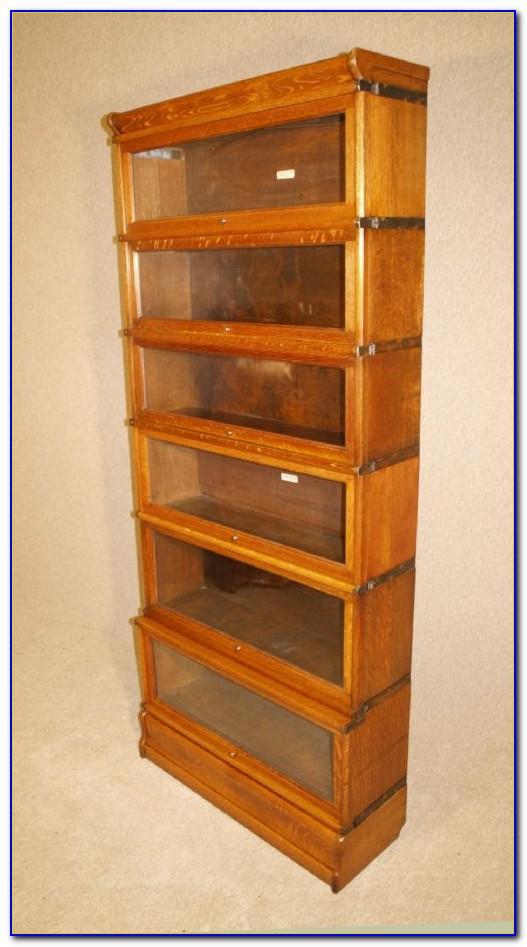 Tall Oak Bookshelves