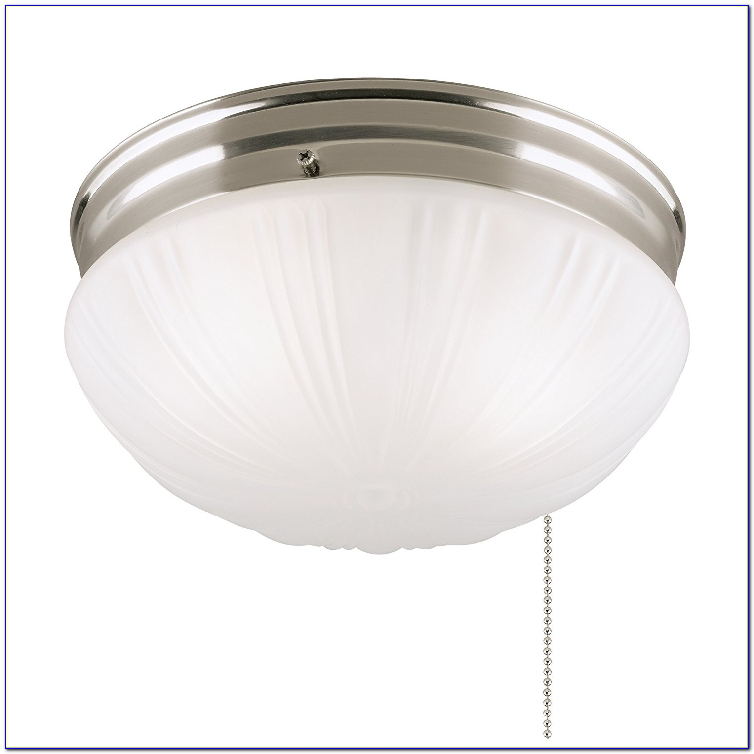 Tiffany Ceiling Light With Pull Chain