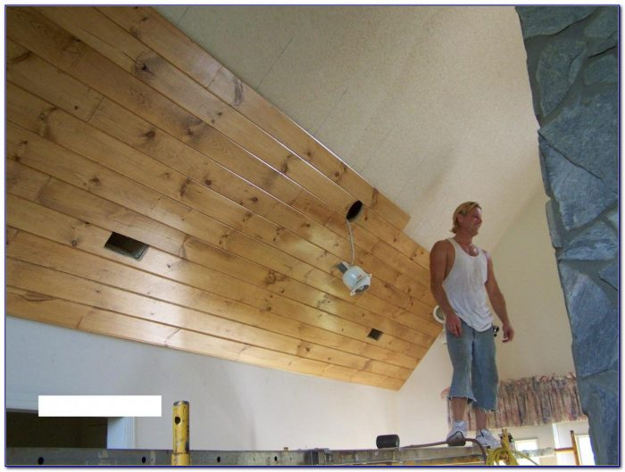 Tongue And Groove Wood Ceiling Panels