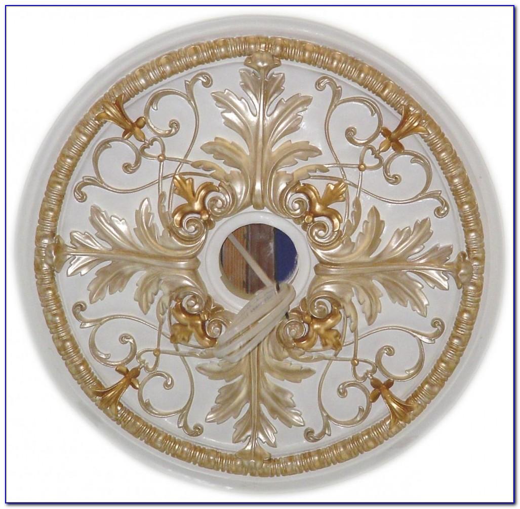 Two Piece Medallion Ceiling Fan