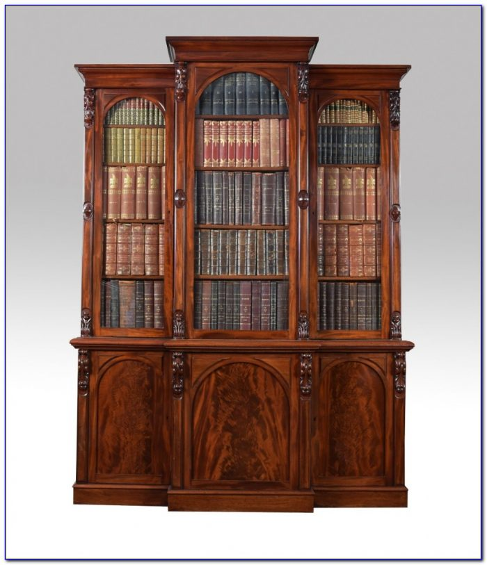 Victorian Mahogany Bookcase Uk