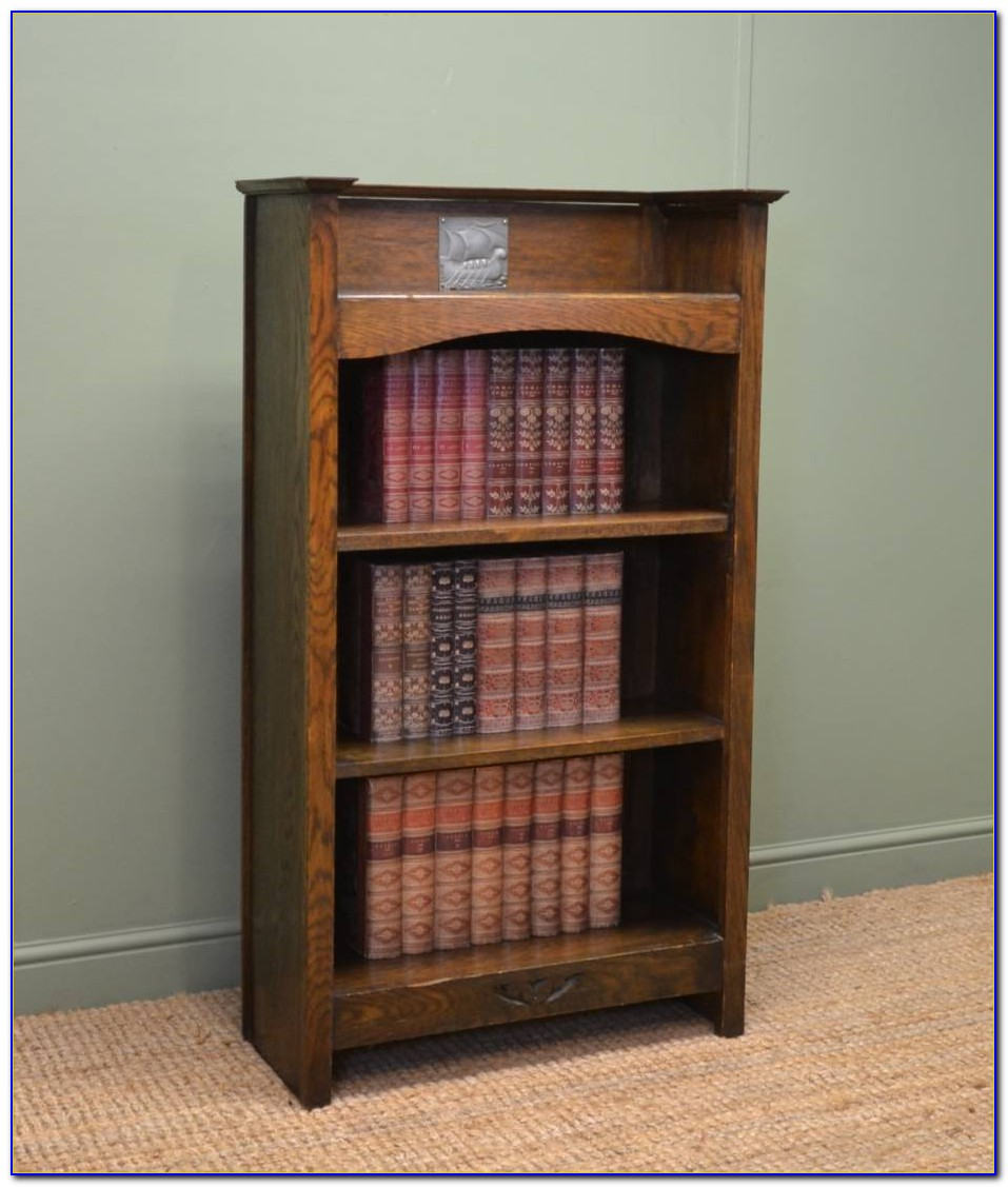 Westbury Reclaimed Oak Low Bookcase