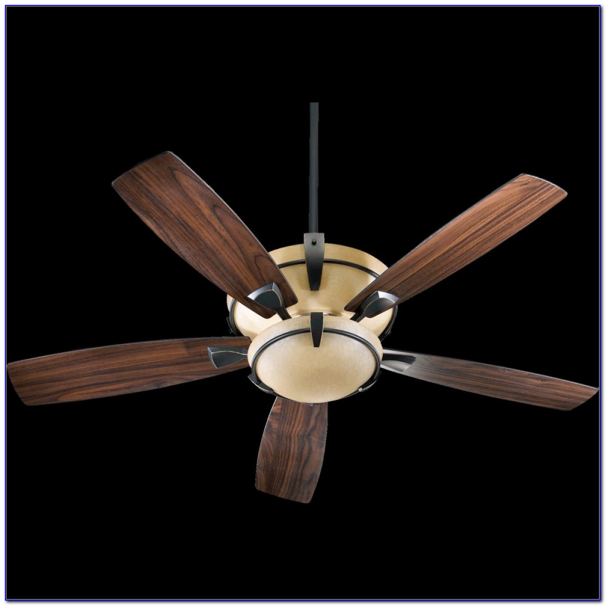 White Ceiling Fan With Uplight And Downlight