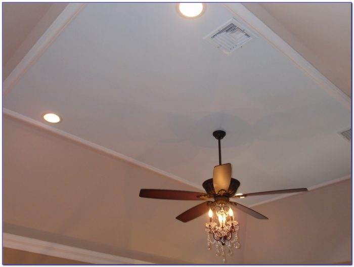 White Ceiling Fans With Crystals