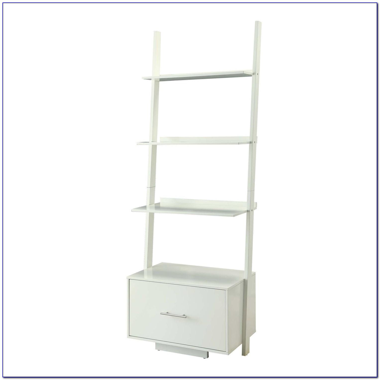 White Ladder Bookcases