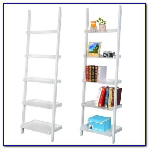 White Ladder Shelf Bookcase Australia