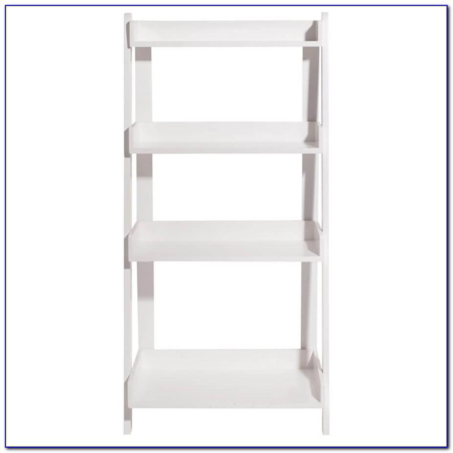 White Ladder Shelf Bookcase Uk