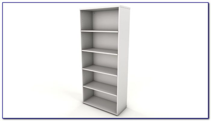 White Office Bookshelf