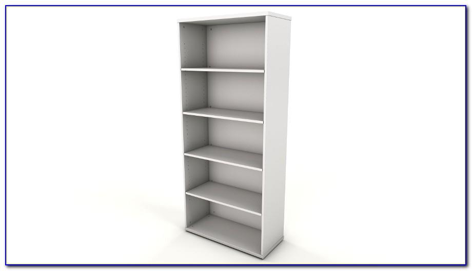 White Office Bookshelf