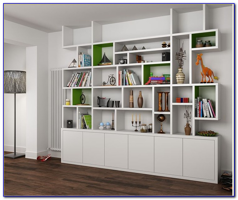 White Shelving And Bookcases