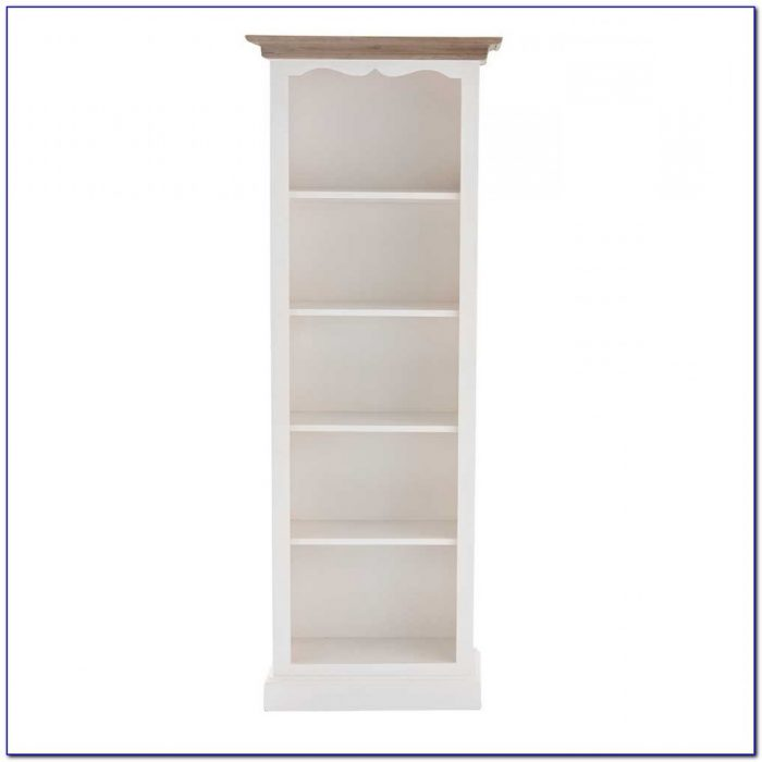 White Wood Bookcases Office Furniture