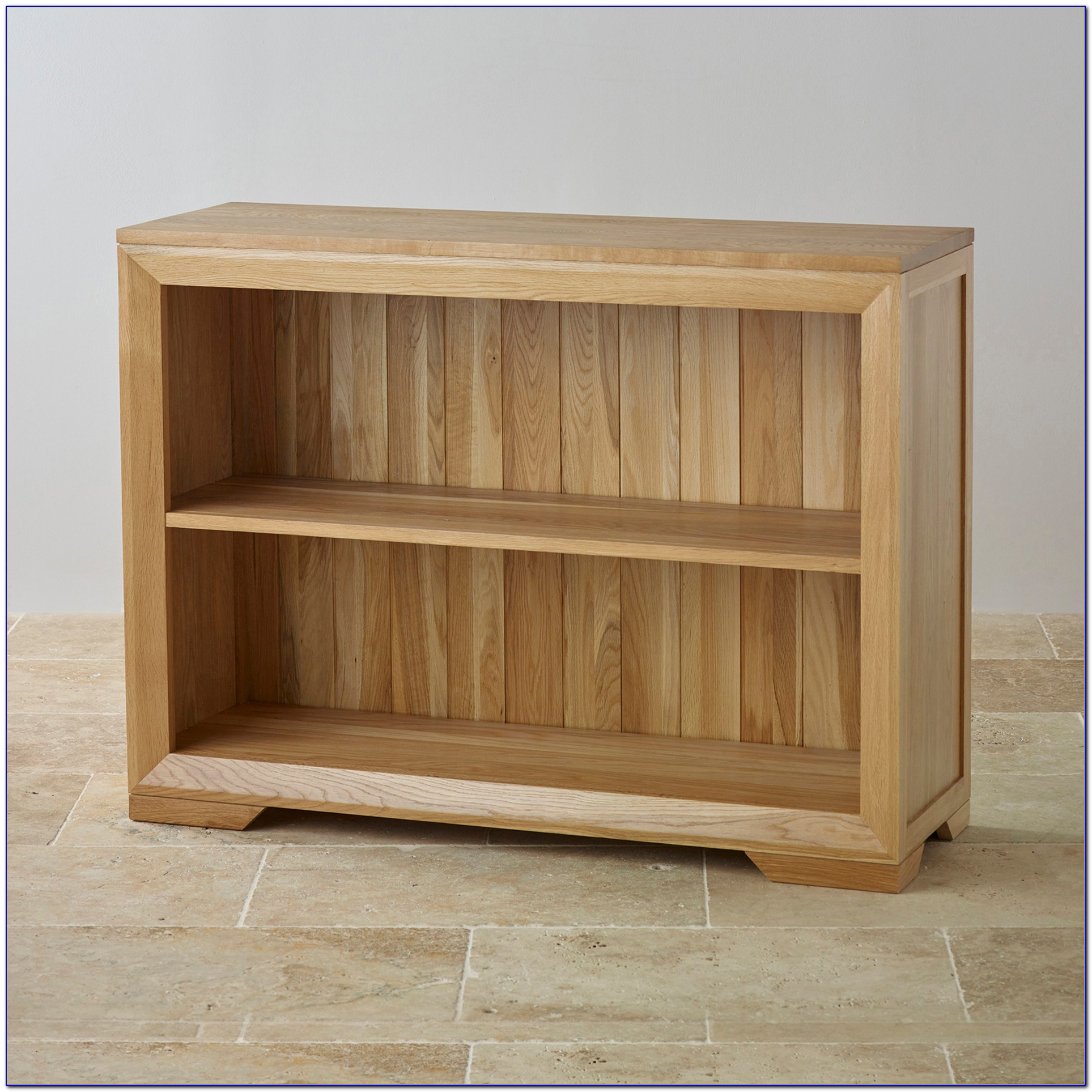 Wide Oak Bookcase Uk