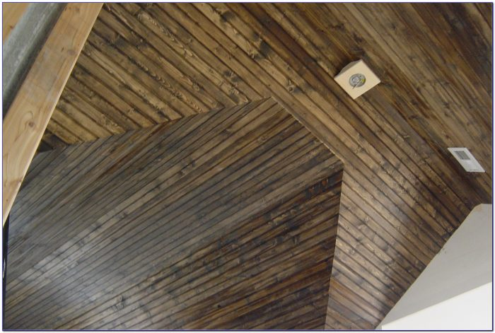 Wood Tongue And Groove Ceiling