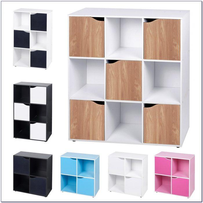 Wooden Cube Shelving Unit