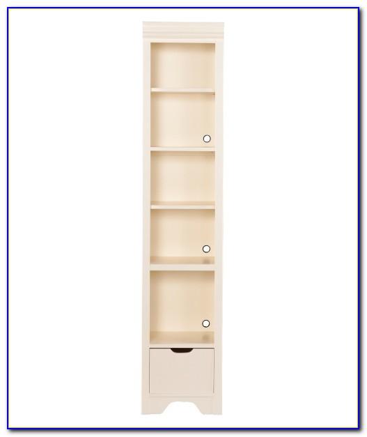 Young America White Bookcase