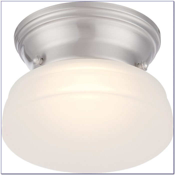 10 Brushed Nickel Ceiling Medallion
