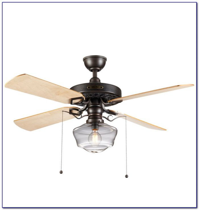 42 Quorum Angel Collection Clear Blade Ceiling Fan