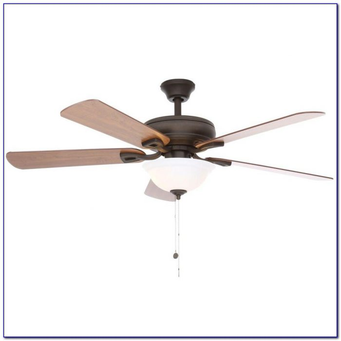 42 White Flush Mount Ceiling Fan With Remote Control