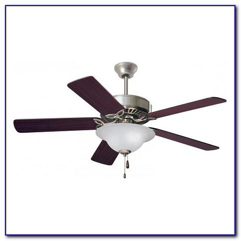 52 Redington Brushed Steel Ceiling Fan With Light Kit