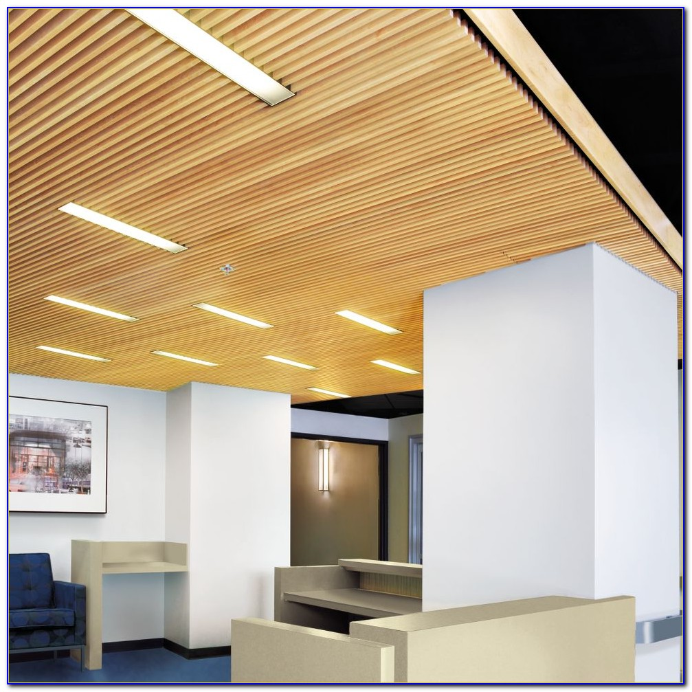 Armstrong Wood Plank Ceiling Tile
