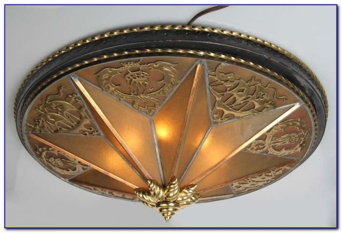 Art Deco Ceiling Medallion