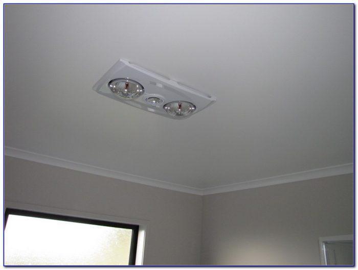 Bathroom Ceiling Heat And Light Unit