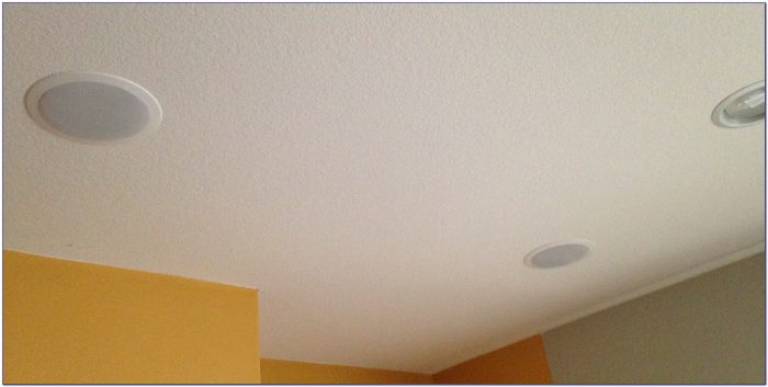 Best In Ceiling Surround Speakers