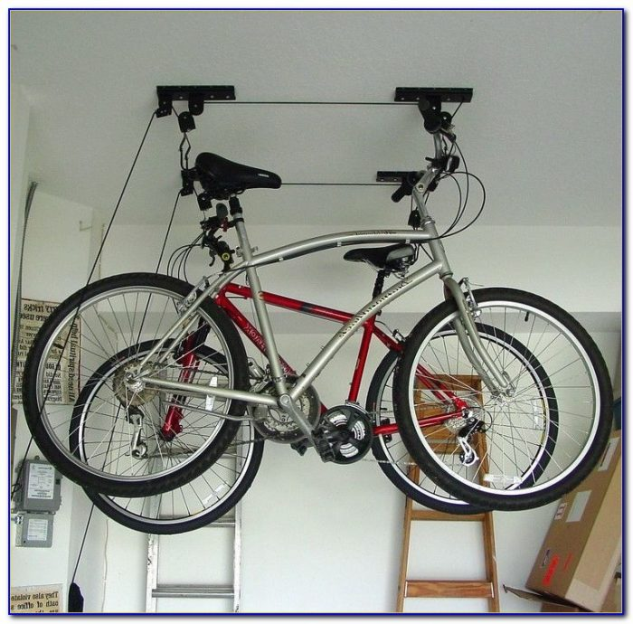 Bicycle Rack For Garage Ceiling