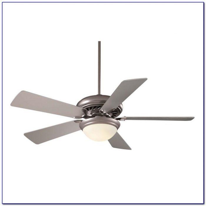 Brushed Steel Ceiling Fan Light Kit
