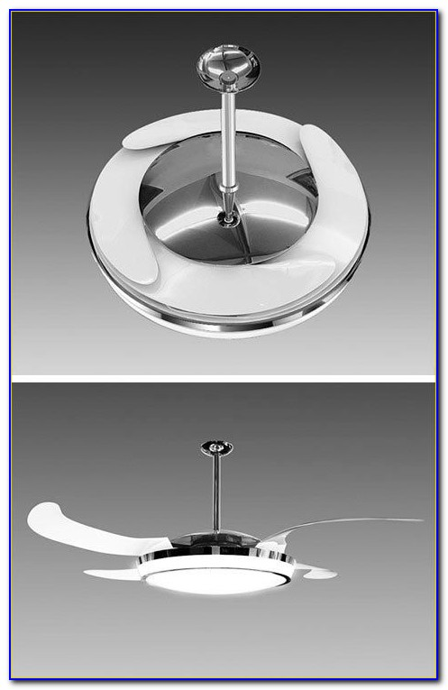 Ceiling Exhaust Fan With Retractable Blades