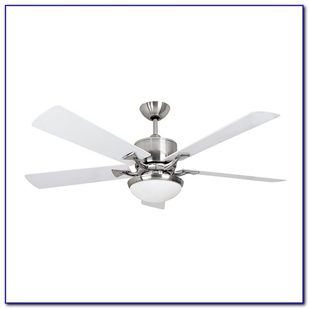 Ceiling Fan Brushed Nickel With Light